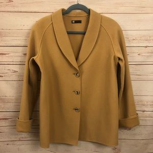 Carole Little Wool Peacoat Jacket Small Vintage
